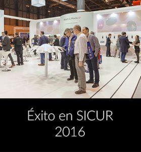 Success at SICUR 2016