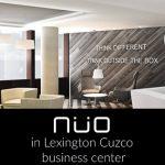 NÜO in Lexington Cuzco business center