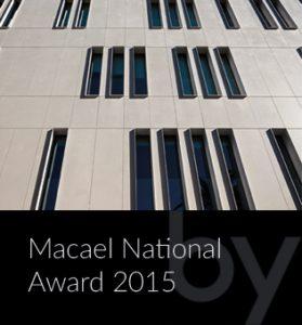 Macael National Award 2015