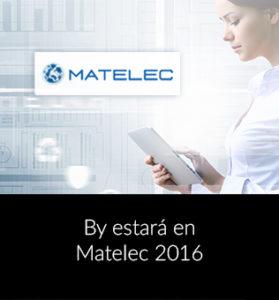 By at Matelec 2016